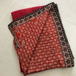Basha- Handmade Bengali Sari Blanket